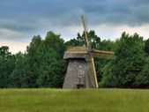 Rumsiskes ethnographic museum in Lithuania — Stock Photo
