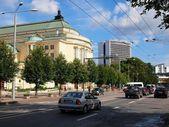 Tallin city street view. Tallinn - ancient city in Baltic states — Stock Photo