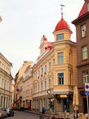 Streets of the Old Town Tallinn. — Stock Photo