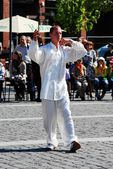 Tai Chi and Qi Gong day in Vilnius city — Stock Photo