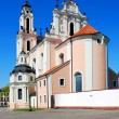 Church of St. Catherine in Vilnius, spring time — Stock Photo #45657473