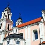Church of St. Catherine in Vilnius, spring time — Stock Photo #45657495