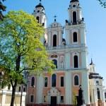 Church of St. Catherine in Vilnius, spring time — Stock Photo #45657529