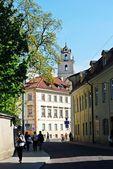 Spring weekend in the old Vilnius city — Стоковое фото