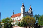 Kerk van st. raphael aartsengel in vilnius — Stockfoto