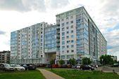 Vilnius Baltrusaicio street at Pasilaiciai on May 14, 2014 — Stock Photo