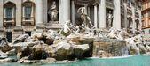 Fontein di trevi - beroemde rome plaats — Stockfoto