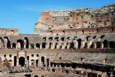Colosseum was built in the first century in Rome city. — Stockfoto