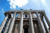 Ruins of the old and beautiful city Rome — Foto de Stock