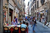 Old street of the ancient Rome city — Stock Photo