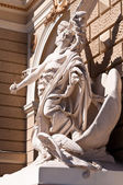 Sculptures at the Odessa Opera and Ballet Theater. Ukraine — Stock Photo