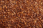 Roasted coffee beans. Background — Stock Photo