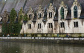 Butcher's Hall In Ghent, Belgium — 图库照片