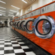 Interior of laundromat — Stock Photo #17739043
