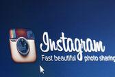 Instagram screen shot — Stock Photo