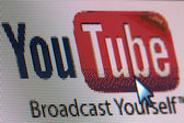 Screenshot Youtube — Stock Photo