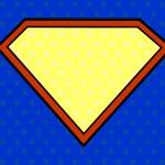 Super hero shield in pop art style — Stock Vector #29126321