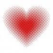 serce półtonów — Wektor stockowy  #34629159