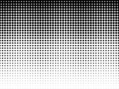 Halftone background. Black-white — Stock Vector