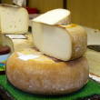 Stock Photo: Stand of cheese in France