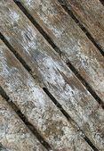Floor wet boards, devastation of time — Stock Photo