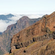Mountain of the east coast of Madeira — Stock Photo