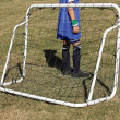 Stock Photo: Child goalkeeper
