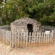 Cadole, stony shelter for shepherd and wine growers (Burgundy France) — Stock Photo #13358228