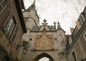 Clock of the clock tower (Auxerre Bourgogne France) — Stock Photo
