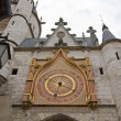 Clock of the clock tower  (Auxerre Bourgogne France) - Stockfoto