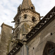 Church Saint-Eusèbe (Auxerre Bourgogne France) 12-13 th century — Stock Photo