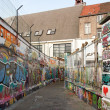 Street art in Ghent (Gand), graffiti (Belgium Flanders) — Stock Photo