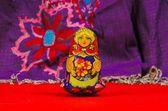 Russian doll, matriochka — Stock Photo