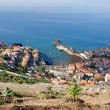 Madeira, village seen by top, west coast — Stock Photo