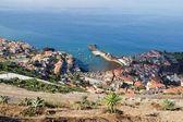 Madeira, vista por arriba, costa oeste de la aldea — Foto de Stock