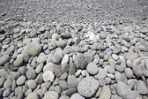 A pebbles beach, the island of Madeira — Stock Photo