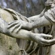 Stock Photo: Gesture, movement of solidarity, antique statues