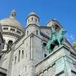 Basilica of the Sacred Heart, Sacré Cœur de Montmartre Paris France — Stock Photo #28330533