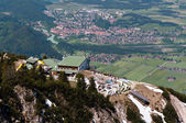 A view from Tegelberg mountain, Germany — Stock Photo