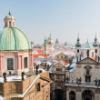 Prague city center in winter — Stock Photo #14051347