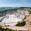 Granite quarry - Stock Photo