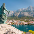 Statue of St. Peter in Makarska, Croatia — Stock Photo #20038405