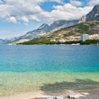 City beach, Makarska, Croatia — Stock Photo