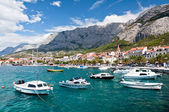 Makarska harbor, Croatia — Stock Photo