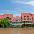 Houses at Little Venice, Bamberg — Stock Photo