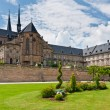 Michaelsberg Abbey yard, Bamberg — Stock Photo