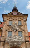 Old Rathaus Tower, Bamberg — Stock Photo