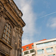 Old and new architecture, Dresden — Stock Photo #30510521