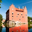 Červená Lhota Castle backside — Stock Photo