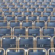 Outdoor theater seats — Stock Photo